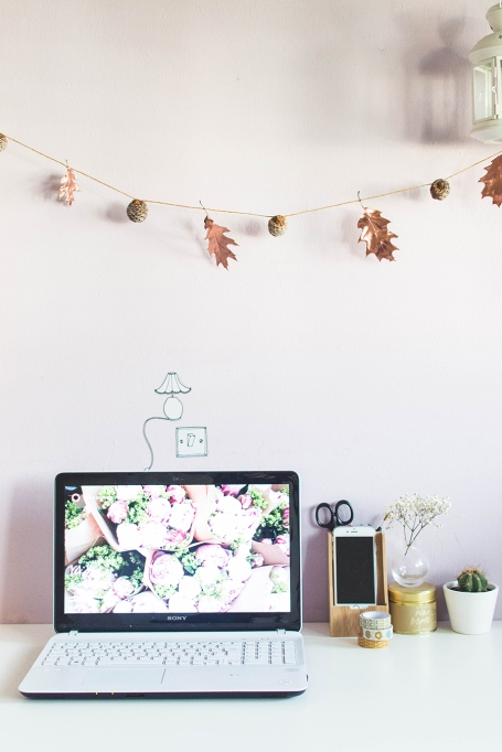 Easy Fall Decor DIYs: This simple garland will dress up any room