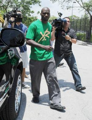 Cameras roll as Chad Johnson fired