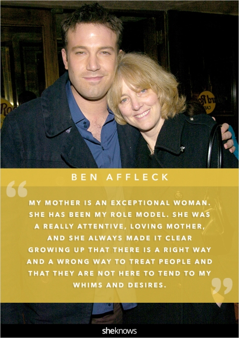 Ben Affleck and his mom