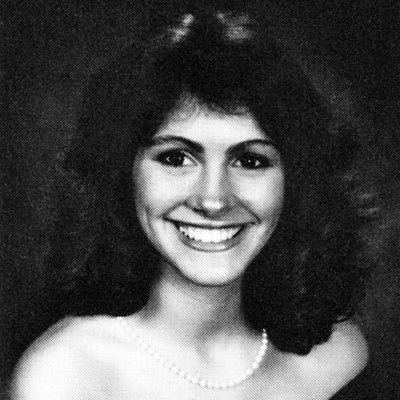 Julia Roberts Yearbook Photo