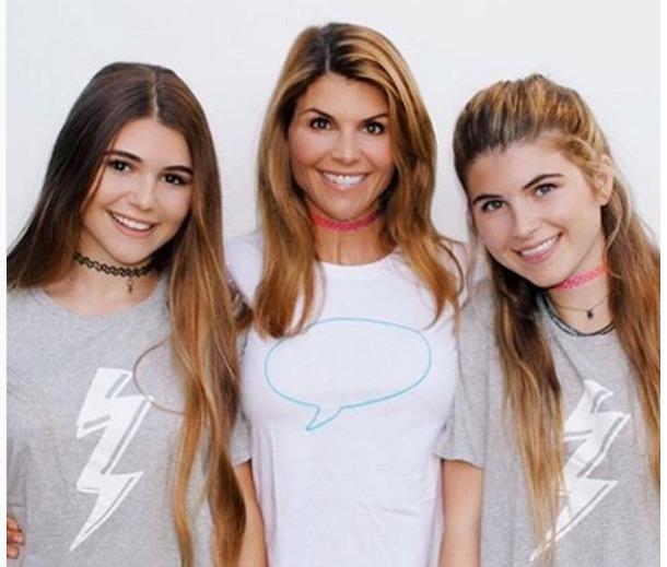 Lori Louhglin, Bella Giannulli and Olivia Giannulli