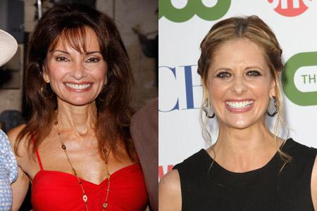 Susan Lucci's feud with Sarah Michelle