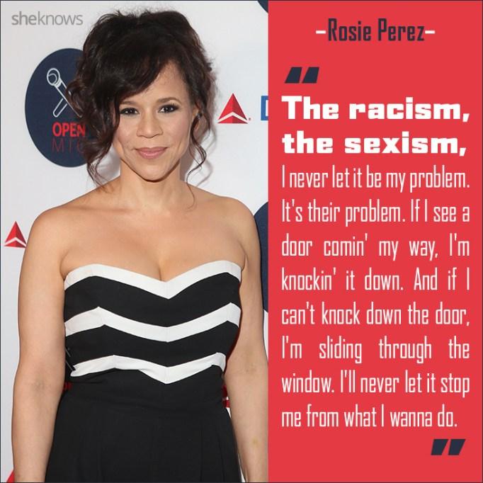 Rosie Perez quote