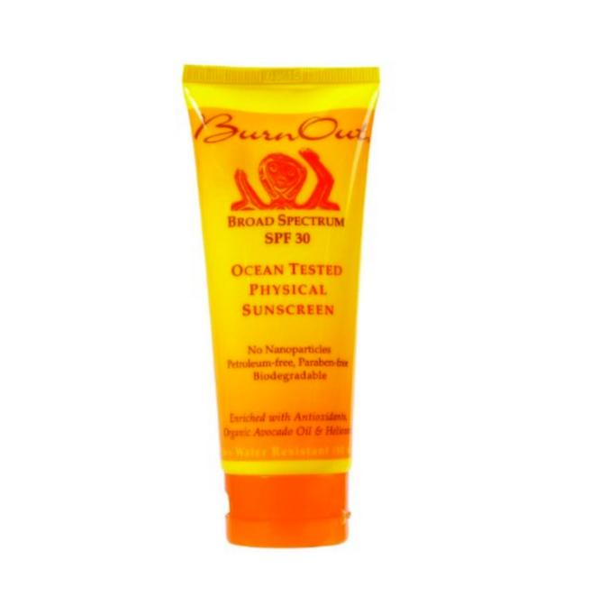 BurnOut sunscreen