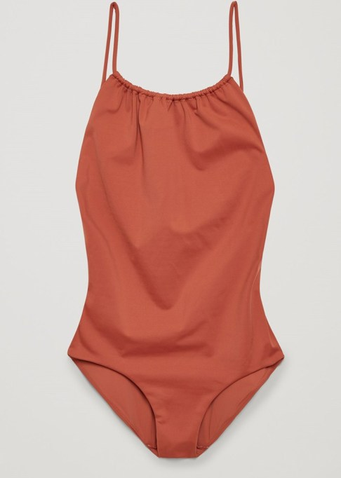 Best Unique Bathing Suits: COS Swimsuit with Tie Back | 2017 Summer Swimsuits