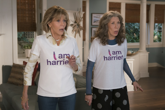 A still from 'Grace and Frankie'