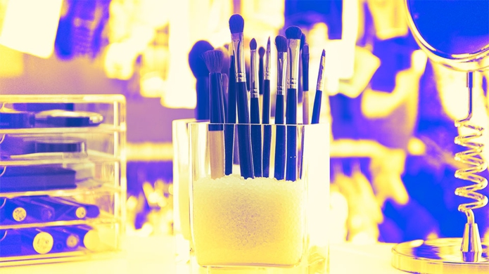 The Best (& Cutest) Small-Space Makeup