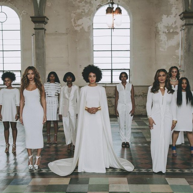 Celebrity Who Wore Unconventional Wedding Dresses: Solange Knowles | Celebrity Weddings