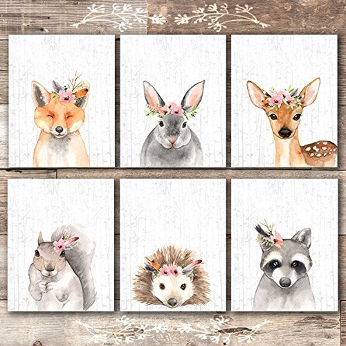 Woodland Animals Wall Decor Set