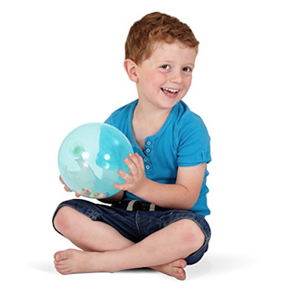 Gifts for kids with autism: Edushape Rainbow Soft Ball