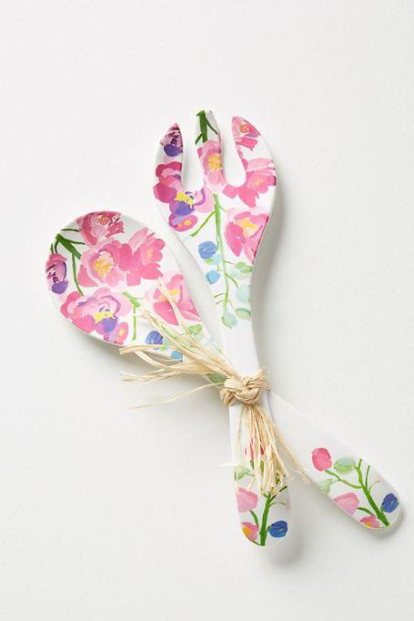 Paint + Petals Melamine Serving Set