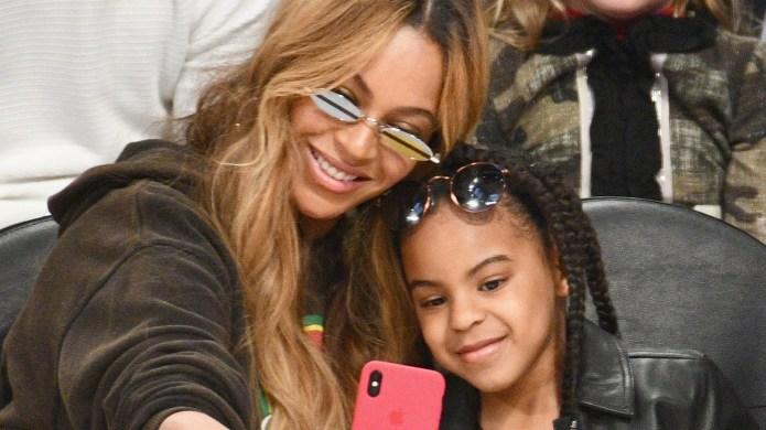 Beyoncé & Blue Ivy Hit Up