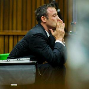 VIDEO: Oscar Pistorius went into combat