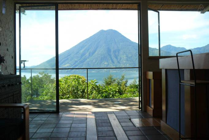 Last-Minute Valentine's Day Getaway on AirBnb: Mountain Views in Solola, Guatemala