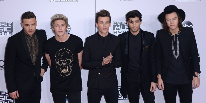 One Direction at the 2014 AMAs