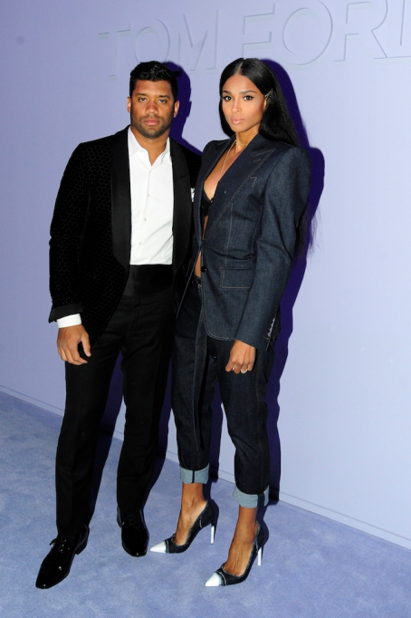 NYFW 2018 Celebrity Sightings: Ciara & Russell Wilson