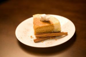 Vegan Pumpkin Pie Cheesecake