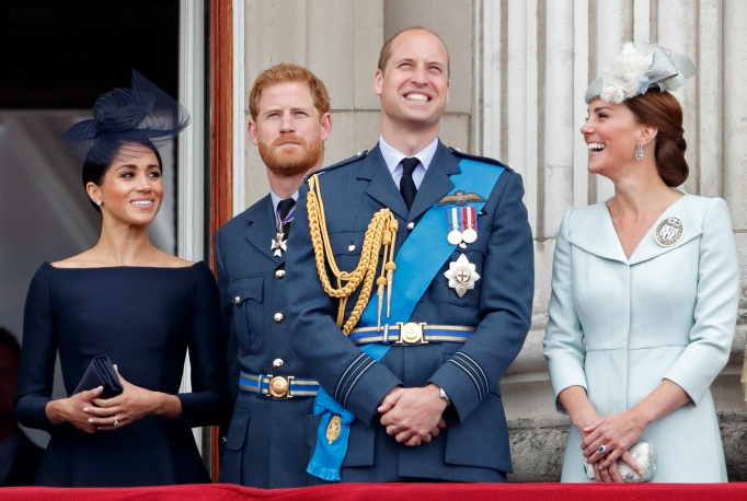 The royal family celebrate the centenary of the Royal Air Force