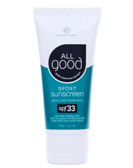 All Good sunscreen