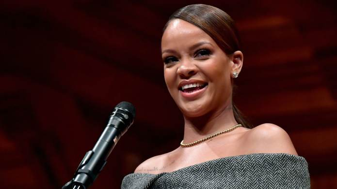 Rihanna's Humanitarian of the Year Speech