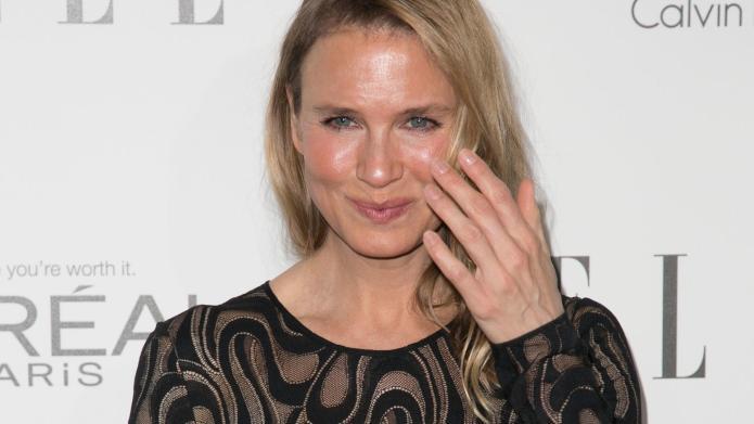 Renée Zellweger pulls a Jennifer Grey,