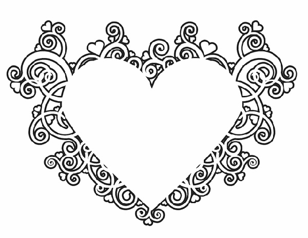 29 Valentine's Day Coloring Pages To Print For Kids