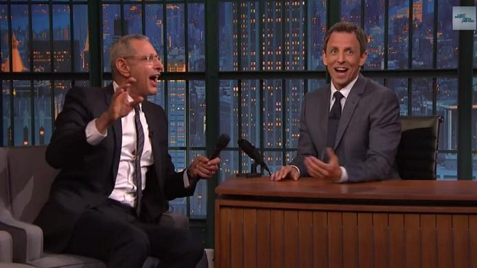 Jeff Goldblum belts out the Jurassic