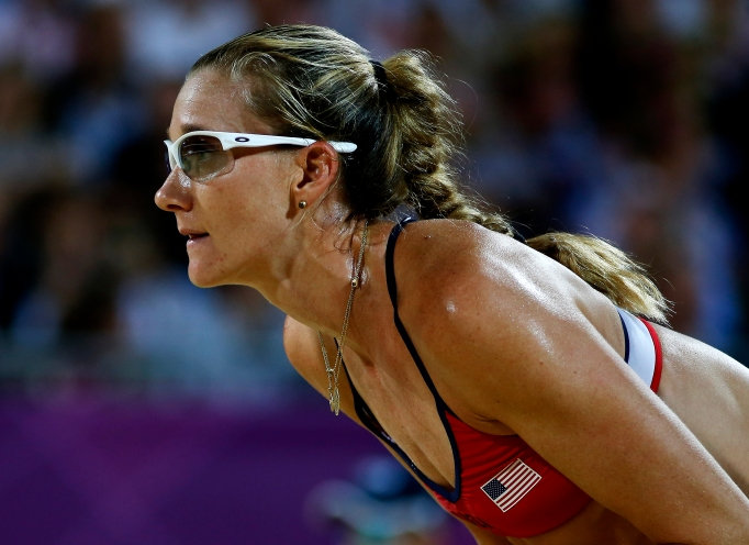 14 Incredible Olympic Athletes Who Competed While Pregnant: Kerri Walsh Jennings