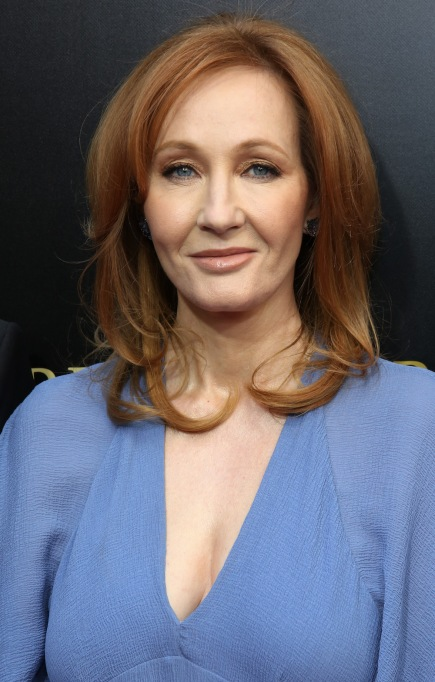 J.K. Rowling April 2018