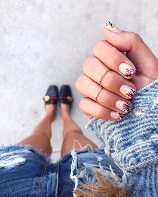 Cool Nail Designs For Short Tips and Biters: | Nail Care