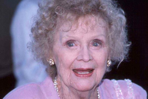 Actress Gloria Stuart