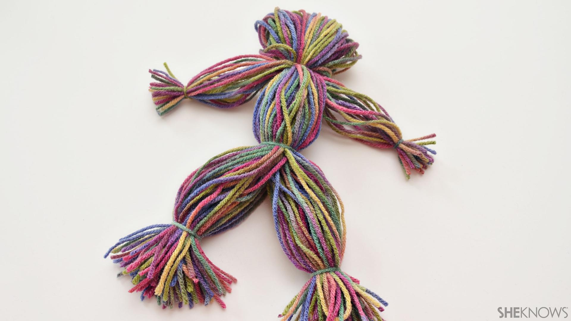 Yarn doll craft | Sheknows.com