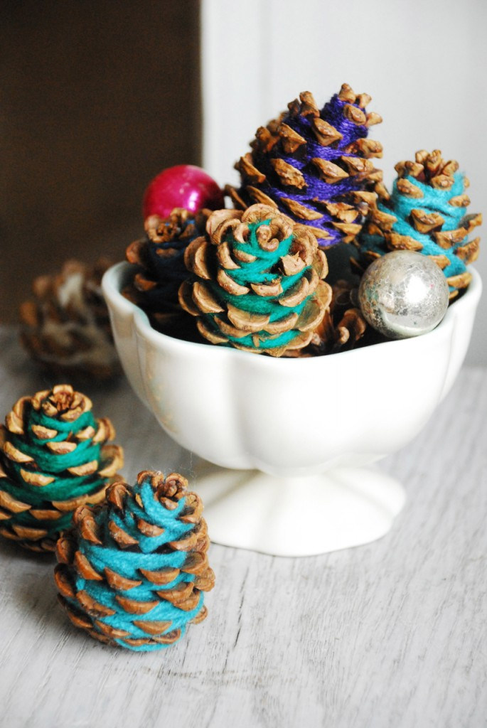 Yarn pinecone | Sheknows.com