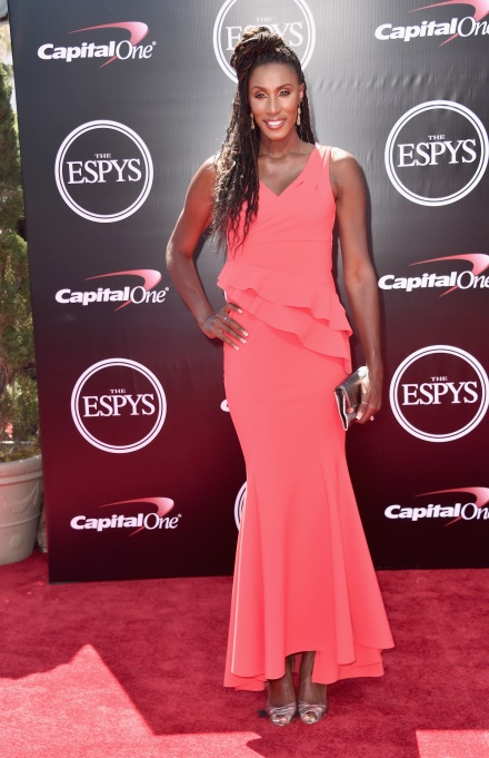 Lisa Leslie at the ESPY Awards