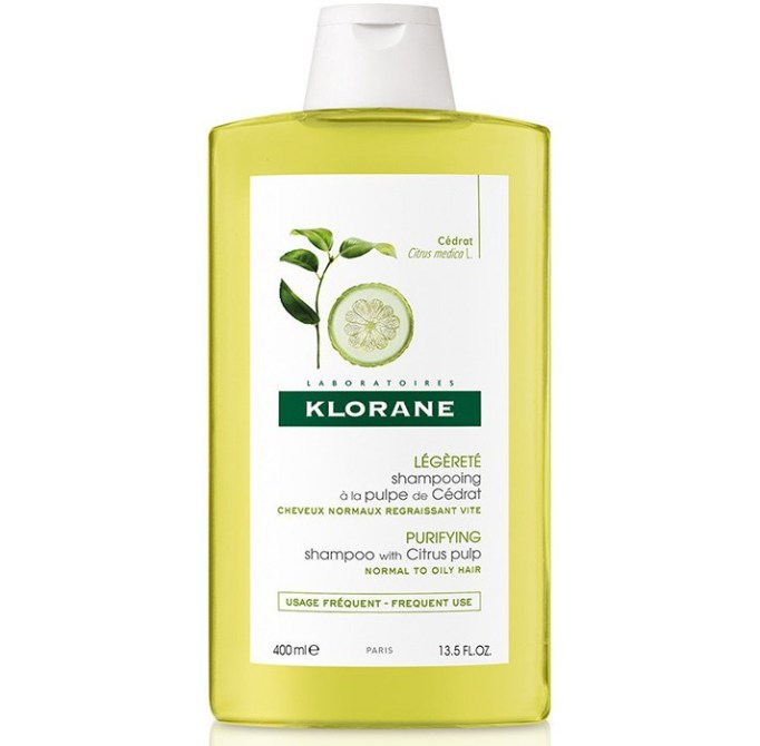 Products That Get Rid of Greasy Hair Fast   Klorane Shampoo with Citrus Pulp-Clarifying