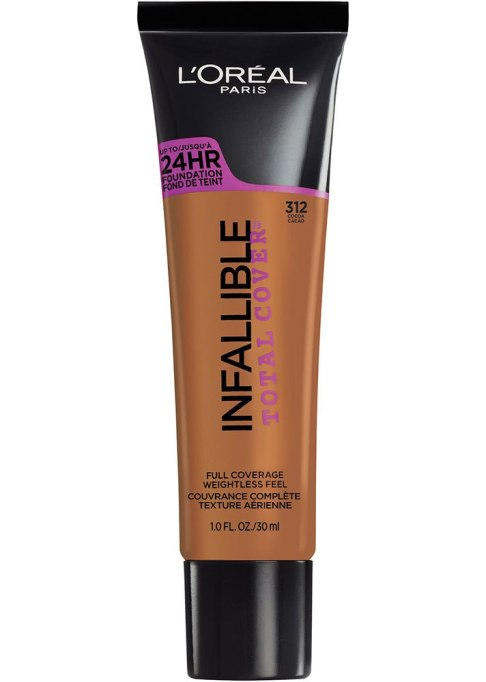 Best Full Coverage Foundations to Try | L'Oreal Paris Infallible Total Cover Foundation