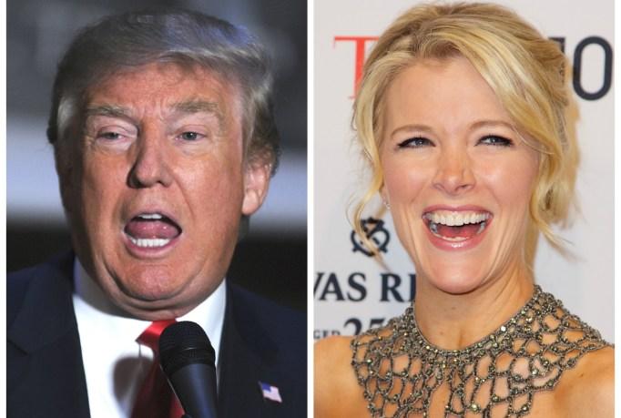 Donald Trump Megyn Kelly feud
