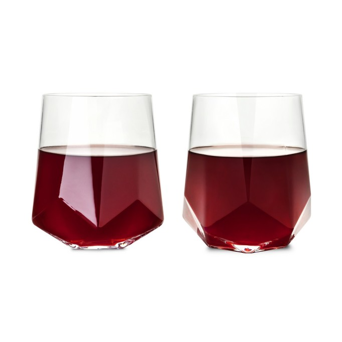 Cute, affordable wine glasses | geometric wine glass