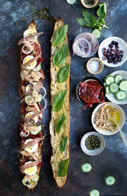 Pan bagnat from Wild Greens & Sardines