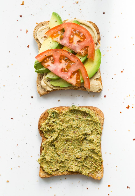 Sandwiches and Wraps for a Healthy Lunch | Ultimate 4-Layer Vegan Sandwich