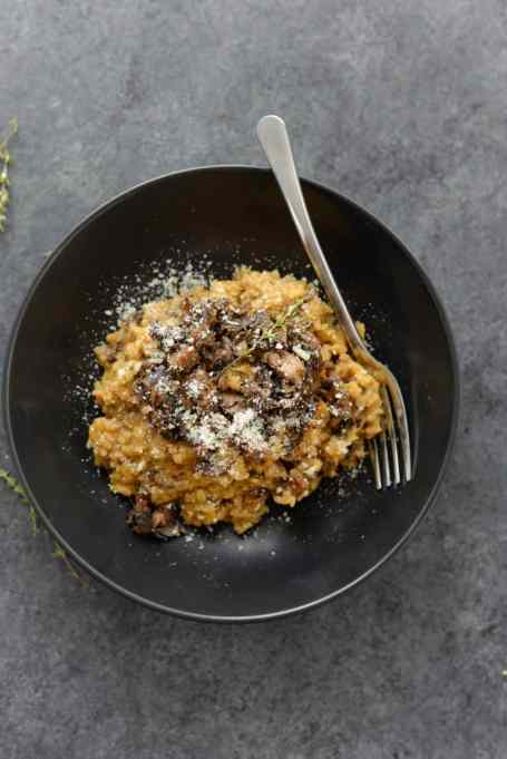Recipes to give you vitamin D during winter | Wild mushroom risotto