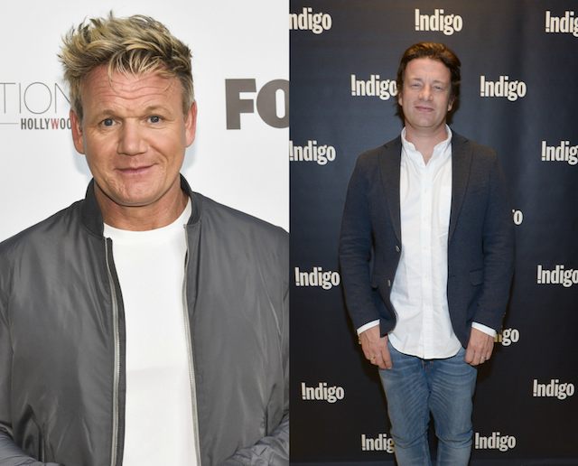 Gordon Ramsay's has been with a lot of people: Jamie Oliver