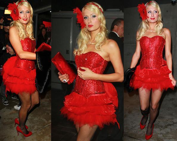 Paris Hilton's 30th birthday party dress