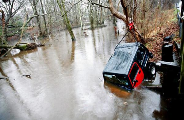 Driving safely during storm surges and