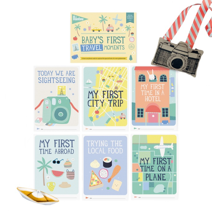 Best baby and kids products from the ABC Kids Expo 2017: Milestone Baby's First Moments Booklets