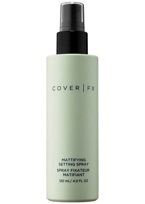 The Best Makeup Products for Oily, Shiny Skin: Cover FX Mattifying Setting Spray | Summer Makeup 2017