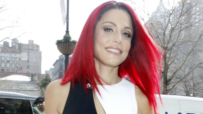 You certainly won't catch Bethenny Frankel