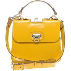 Yellow cross-body bag
