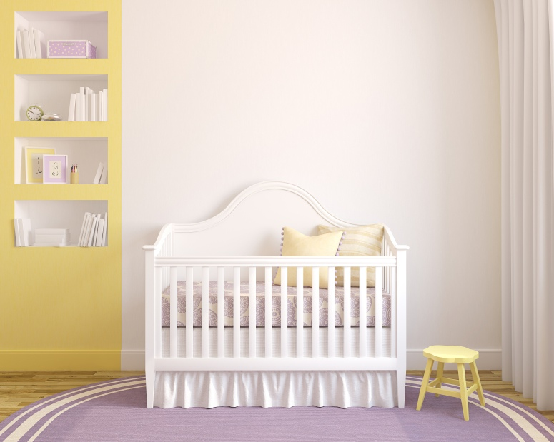 yellow nursery accents