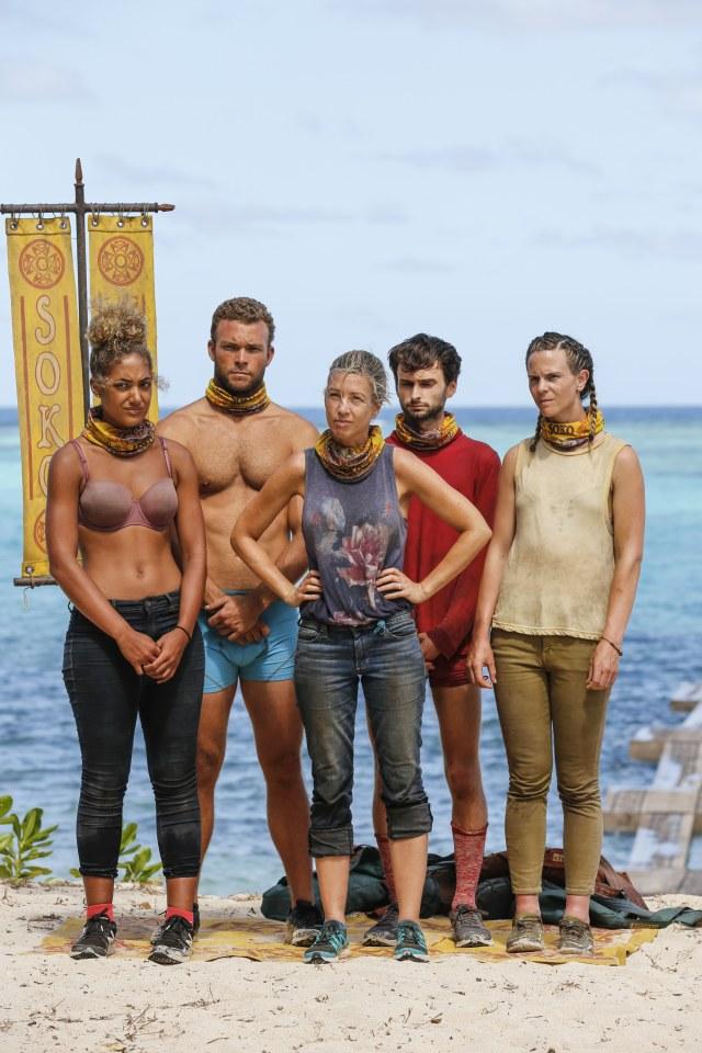 Soko tribe on Survivor: Heroes Vs. Healers Vs. Hustlers